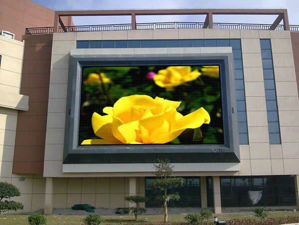 Customized SMD Full Color LED Display / P8 Outdoor LED Module For Meeting Room