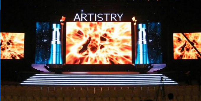 P5 Indoor LED Screen Rental LED Display Dimension Customized For Business