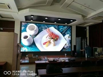 China High Resolution P4 Full Color LED Panel , HD P4 RGB LED Display Board supplier