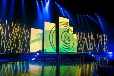 China Full Color P3 Rental LED Display , Indoor LED Video Walls For Stage / Event supplier