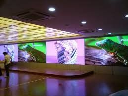 Super Clear Indoor LED Video Screen , Large P3 Commercial