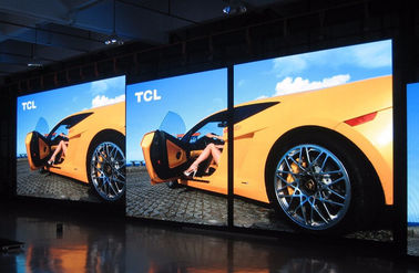 China SMD HD Full Color P6 Indoor LED Display , Aluminum LED Display Big Electronic Video supplier
