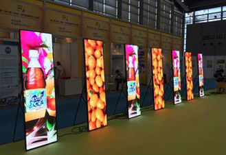 China P2 / P2.5 / P3 Wall Poster LED Advertising Box Full Color ISO 9001 Approved supplier