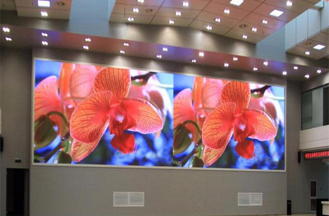 Dimension Customized P6 Indoor LED Display , LED Video Wall Panels