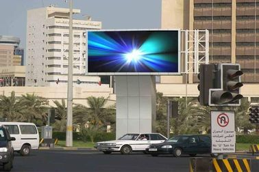 SMD Outdoor Advertising LED Display Screen , P8 Outdoor LED Module / LED Board