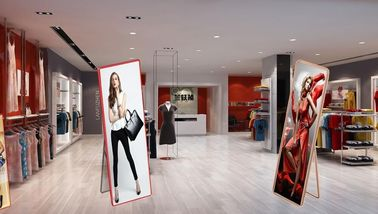 China Poster Mirror LED Advertising Box Indoor P2.5 LED Display Screen Full Color distributor