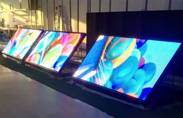 China Waterproof Front Opening 10mm LED Display / SMD LED Display Screen For Physical Sports distributor