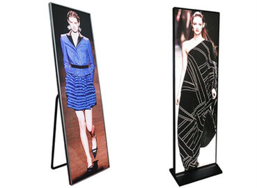 China Popular P2.5 Ultra Thin LED Advertising Box Indoor LED Poster Display For Shopping Room distributor